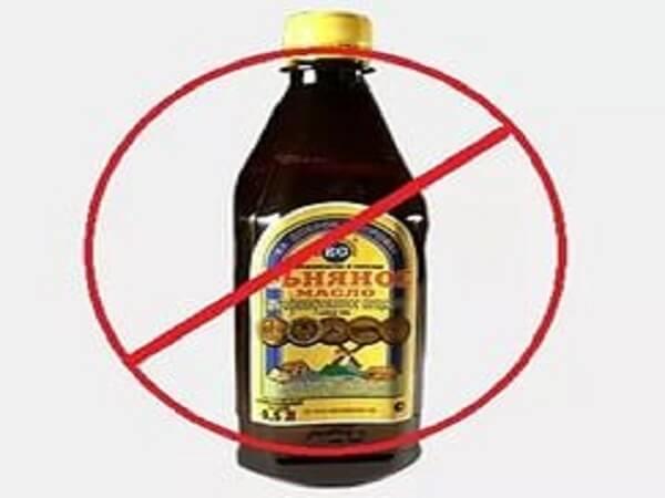 Льняное масло - противопоказания