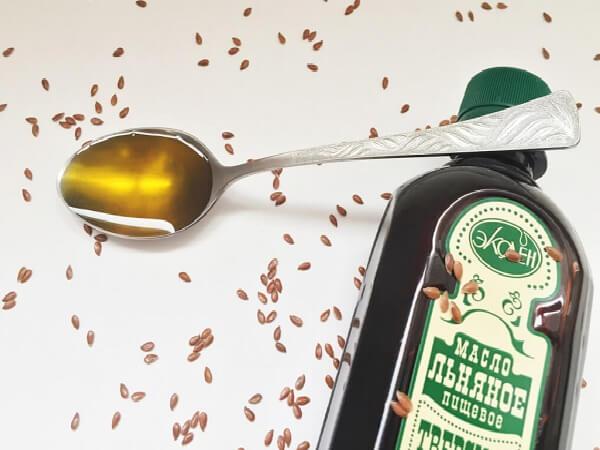 Льняное масло от запоров фото