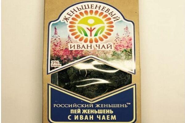 Иван чай с женьшенем