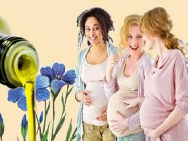 Применение льняного масла во время беременности фото