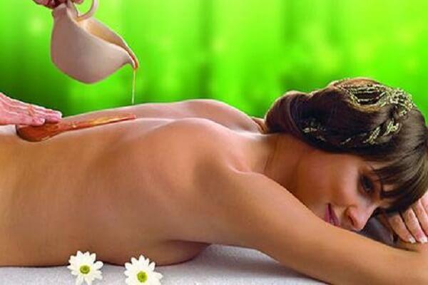 Медовый массаж - фото