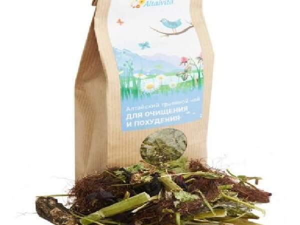 Сбор трав для похудения и очищения