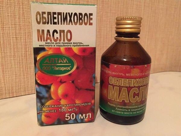 Облепиховое масло - наружное применение