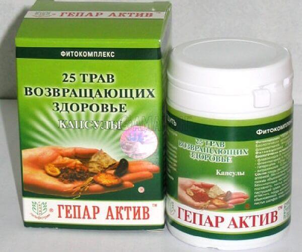 фитокомплекс Гепар Актив