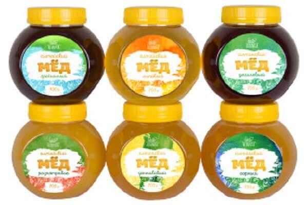 6 видов меда