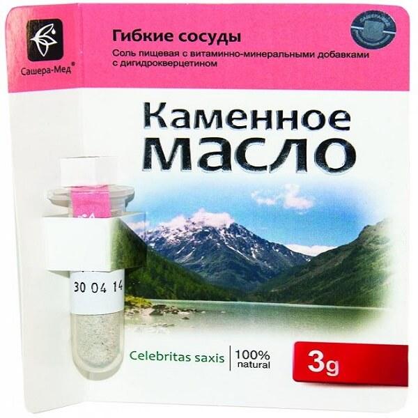 Каменное масло с дигидрокверцетином